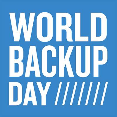 INFOGRAPHIC: March 31st is World Backup Day