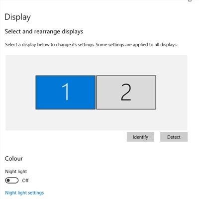 Tip of the Week: Change Display Settings in Windows 10